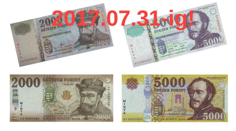 Meddig fizethetsz a régi bankjegyekkel?
