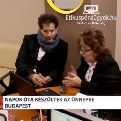 Somos Andrással az ATV Híradóban beszélgetünk
