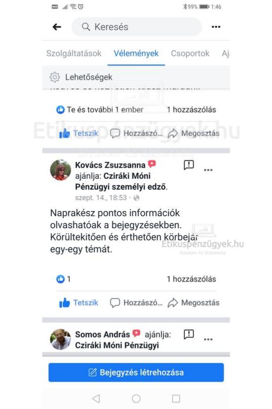 Kovács Zsuzsa ezt mondja rólunk