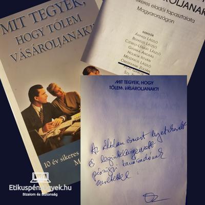 Oberfrank Zoltán ajánlása Cziráki Móni