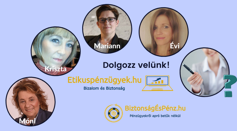 Az Etikuspénzügyek.hu csapata új tanácsadóval bővült
