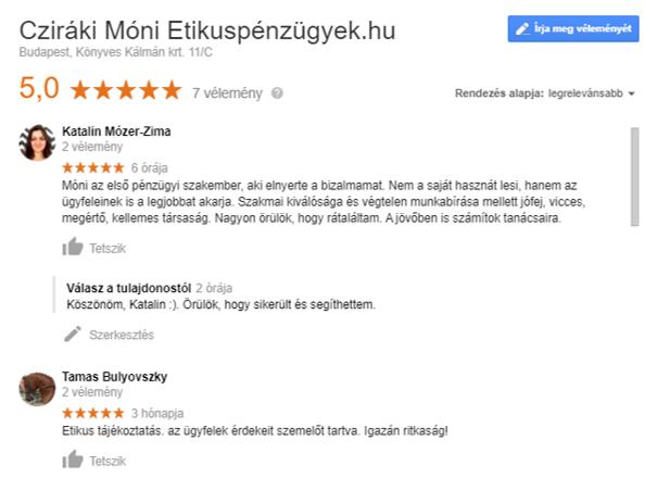 Etikuspénzügyek.hu értékelése