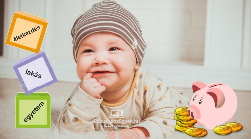 Hogyan kezdted a felnőtt életed, emlékszel? - megtakarítások gyermekeknek